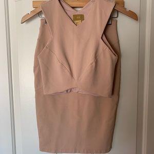 H&M skirt and top set